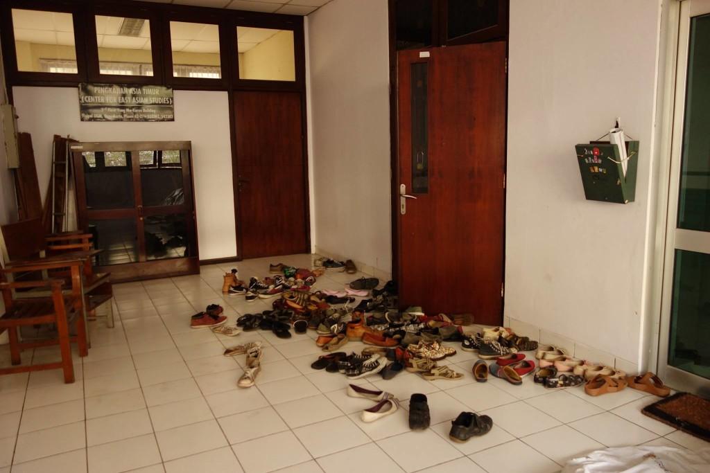 Ver dem Seminarraum der Universität Gadjah Mada Yogyakarta, Indonesien