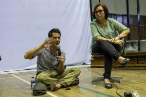 TRILOGI JAWA: Indonesia-Tour 2014, Art Academy Bandung, Ascan Breuer, Sulastri Wiriadipoera (Goethe Institut)