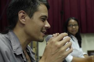 TRILOGI JAWA: Indonesia-Tour 2014, University Gadjah Mada, Yogyakarta, Ascan Breuer, Amalinda Savirani