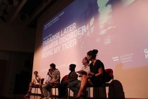 TRILOGI JAWA: Indonesia-Tour 2014, premiere at Goethe Haus, Jakarta, 21-10-2014, Ascan Breuer, Victor Jaschke, Wardah Hafidz, UPC, Urban Poor Consortium