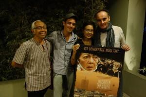 TRILOGI JAWA: Indonesia-Tour 2014, Ascan Breuer, Victor Jaschke, with Wardah Hafidz, Wiladi Budiharga, UPC, Urban Poor Consortium