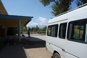 "JAKARTA DISORDER-Tour: ""Bir Duino Kyrgyzstan 2014"", tour bus"