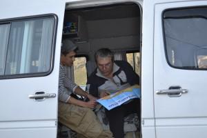 """JAKARTA DISORDER-Tour: """"Bir Duino Kyrgyzstan 2014"""", Ascan Breuer, tour driver"""