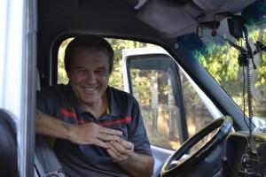 "JAKARTA DISORDER-Tour: ""Bir Duino Kyrgyzstan 2014"", tour driver"