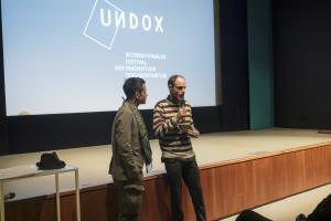 David Kellner ist einer der KuratorInnen, die einen Film im Eröffnungsprogramm vorstellen...