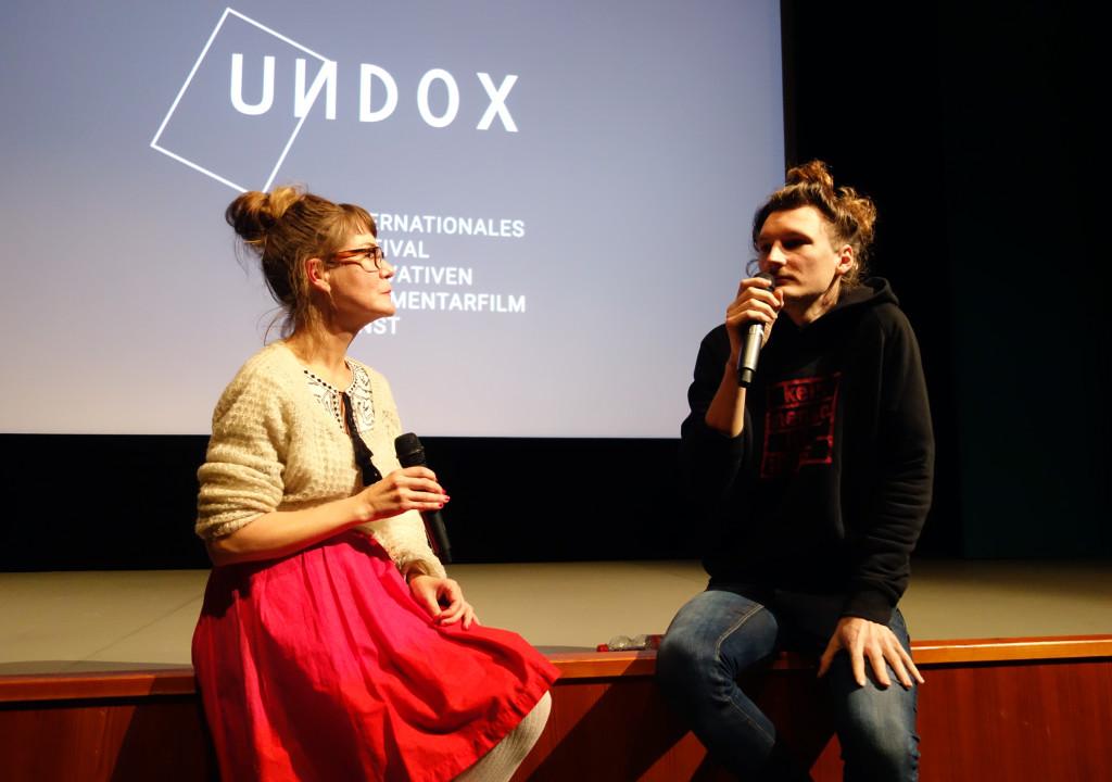 Amina Handke als Kuratorin von UNDOX 2017